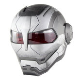 SOMAN Steel Man Casco Flip Up Moto Casco Robot Style Motor Bike Casco Monster Casque Approvazione DOT