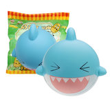 SquishyFun Shark Squishy 15cm Jumbo Licensed Slow Rising Soft With Packaging Collection Gift