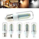 E27 B22 E14 E12 G9 GU10 5W 500LM SMD2835 84LEDs Warm White Pure White Corn Light Bulb AC85-265V