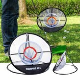 Golf Chipping Practice Net Folding Golf Training Net Sport Golf Cages Net With Turf Golf Training Net