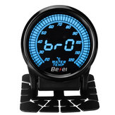 2Inch 52mm Car Meter 20-120℃ 10 Colors LED Digital Water Temperature Gauge