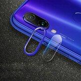 Bakeey ™ Anello circolare in metallo antigraffio + Telefono in vetro temperato fotografica lente Protezione per Xiaomi Redmi Nota 7 / Nota 7 Pro Non originale