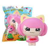 SquishyFun Rosa Little Girl Squishy Hanging Decoration 12CM Cute Doll Gift Collection Packaging