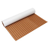1200mmx2400mmx5mm EVA Foam Faux Teak Sheet Boat Yacht Synthetic Teak Decking Brown