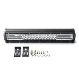 10-30 V 16 Inch 432 W Tri-rij 7D 72 LED Verlichting Bar Spot Flood Driving Combo lamp Voor Offroad Jeep Truck Baot ATV UTV
