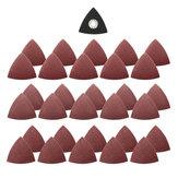 31pcs 60/80/120 зернистости наждачной бумагой с треугольным песком диск для Бош FEIN мультимастерной