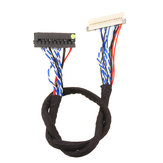 P3 DF19 20P 1CH 6-bit Screen Line 20 Pin Universal LVDS LCD Driver Cable For Lehua Dingke