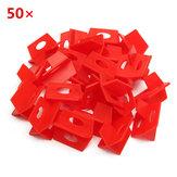 50Pcs 2mm Beyaz Seramik Fayans Fayans Erişilebilirlik Faydalı Plastik Clip
