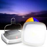 Портативный 3W 300LM COB LED Солнечная Фонарь USB аккумуляторная Кемпинг Тент свет чрезвычайной Лампа