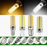 G9 ba15d 2.5w LED lâmpadas de milho quente branco puro lâmpada de silicone ac110v G4 Dimmable e11 e12 e14 e17