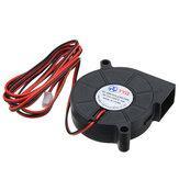 Ventola di raffreddamento DC24V Turbina ultra silenziosa Piccolo ventilatore CC 5015 per circuito stampato 3D
