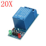 20pcs 5V Low Level Trigger One 1 Channel Relay Module Interface Board Shield DC AC 220V