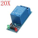 20 pcs 5V Bas Niveau Déclencheur One 1 Canal Module De Relais Carte D'interface Shield DC AC 220 V