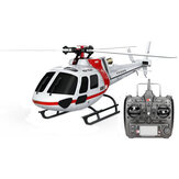 XK K123 6CH Brushless AS350 Escala RC Helicopter RTF Mode 2