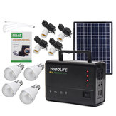 LM-3606 110-220V 4USB Solar Panel Generator Solar Generator System With LED LampSolar Panels