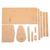 DIY Leather Craft acrilico Bella spalla Borsa Modelli di stencil Modello acrilico Modello