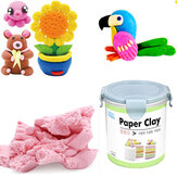 Nororo Paper Clay 800ML SOFT Ultralight FAI DA TE Non tossico Sabbia non spazzolata Space Sand Kids Play Toy