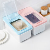 6/10Kg Multi-Function Rice Storage Box Sealed Insect-Proof Flour Boxes Kitchen Moisture-Proof Bucket