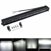 13 Inch 120W 6D Single ROW LED Work Light Bar SpotLight Car Truck Driving Lamp