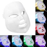 7 colori Light Photon LED Electric Facial Maschera Cura della pelle