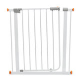 75*78cm Adjustable Baby Metal Safety Gates Pet Dog Child Door Stair Fence Security Barrier Gate