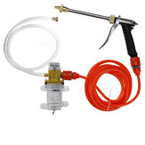 12V 120W 250PSI Household Car Wash Pump Portable High Pressure Electric Washer Spray Tool