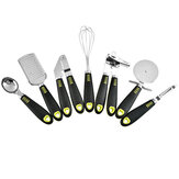 7 Piece Cooking Utensil Set Stainless Steel Kitchen Gadget Tool Nylon Handles Kitchen Cookware Set