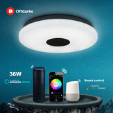 OFFDARKS Smart Modern Ceiling Light LXD-WF-XGP-36 Wifi Voice Control Suitable for Living Room Bedroom Kitchen Dimming Color LED Ceiling Lamp