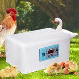 Digital Temperature Control Egg Incubator Poultry Incubator Brooder Hatchery Egg Hatcher for Chicken Duck Bird Pigeon
