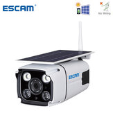 ESCAM QF260 WIFI HD 1080P 2.0MP Wireless IP67 Outdoor Solar Battery Power Low Power Consumption PIR Surveillance Security Camera