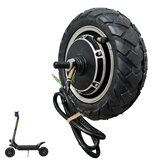 BOYUEDA 10/11inch 52V1200W/ 60V2800W Electric Scooter Brushless Hub Motor Anti-Skid Wheel Tire Set
