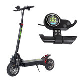 LANGFEITE L8S 2019 رواية 20.8Ah 48.1V 800W * 2 Dual Motor Folding Scooter Electric اللون عرض تيار منتظم Brushless Motor 45km / h Top Speed 55km Range EU Plug