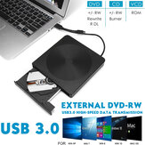 USB 3.0 CD externo DVD RW Writer Type-c Drive Burner Reader Player para laptop