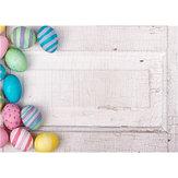 5x7FT-os vinil húsvéti tojásfehér falfényképészeti háttér háttérstúdió-prop