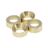 4PCS Brass Wheel Counterweight Balance for Axial SCX24 90081 RC Car Vehicles Model Spare Parts
