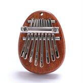 8 клавиш пианино для большого пальца пальца калимба детский практический деревянный музыкальный инструмент для начинающих
