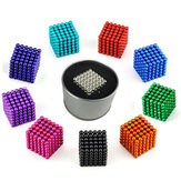1000PCS 3mm Cube Buck Ball Mixcolour Magnetic Toys Neodymium N35 Magnet Indoor Brinquedos