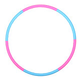 Removable Plastic Fitness Hoop Slim Whole Body Beauty Sports Yoga Ring Workout Equipment Children Adults