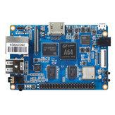 BananaPiBPI-M64A641.2GHz Quad-Core ARM Cortex A53 64-bitowy 2 GB DDR3 8 GB EMMC Z WIFI i Bluetooth Pokładowy komputer jednopłytkowy Płyta rozwojowa do komputera Mini PC
