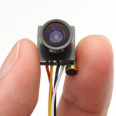 600TVL 1.8mm 1/4 CMOS 120 Degree Wide Angle Lens FPV Camera PAL/NTSC 3.7-5V for RC Drone FPV Racing
