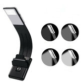 USB ricaricabile LED Reading Book Light multifunzionale flessibile Clip-on Night lampada per Kindle IPad