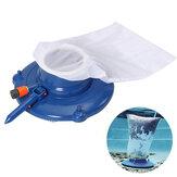 Cabeçote de sucção de aspirador de piscina com rede Bolsa Escova Kit de ferramentas de limpeza 15 ''