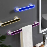 Ecoco Moistureproof Self-adhesive Towel Holder Rack Wall Mounted Towel Hanger Slipper Rack Kitchen Shelf