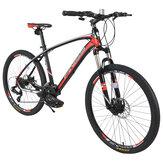 [Directo de EE. UU.] 26 Inch 24 velocidades Bicicleta de montaña Marco de aleación de aluminio y freno de disco MTB al aire libre Bicicleta de ciclismo para hombres y mujeres