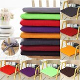 Pongee Colorful Square Cushion Home Car Chair Seat Pad Seat Cushion