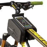 بروميندSGB-14W396بوصةشاشةاللمس للماء متب الدراجة الهاتف حقيبة الجبهة الإطار الأعلى أنبوب حقيبة