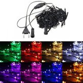 20M 200 LED String Fairy Light Outdoor Kerstmis Wedding Party Lamp 220V