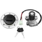 Interruptor de encendido Gas Fuel Cap cerradura llave para Suzuki GSXR1000 SV650 TL1000R GSF1200