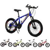 KAIMATE 20 بوصة 21 سرعة دراجة جبلية للأطفال 40-شفرات عجلات فرامل قرصية أمامية وخلفية دراجة أطفال ركوب دراجة MTB