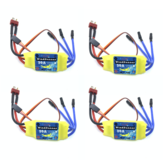 4PCS Brusheless ESC 30A Speed Control T-Plug for 2212 Brushless Motor KT SU27 RC Airplane FPV Racing Drone RC Car Boat